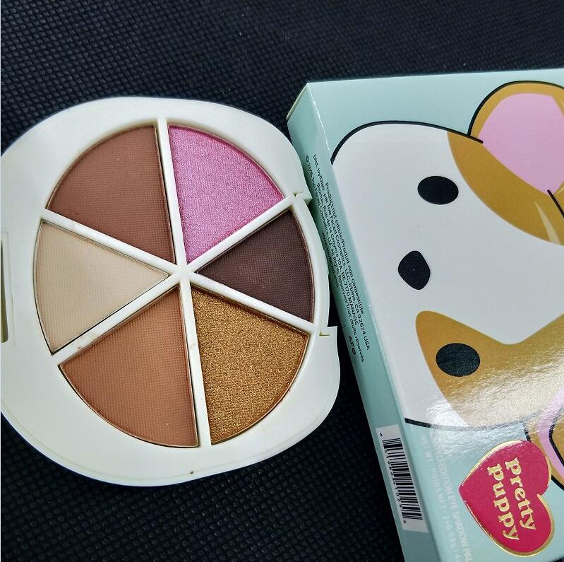 maquillage High quality makeup eye shadow palette pretty puppy 6 color eye shadow palette In stock!