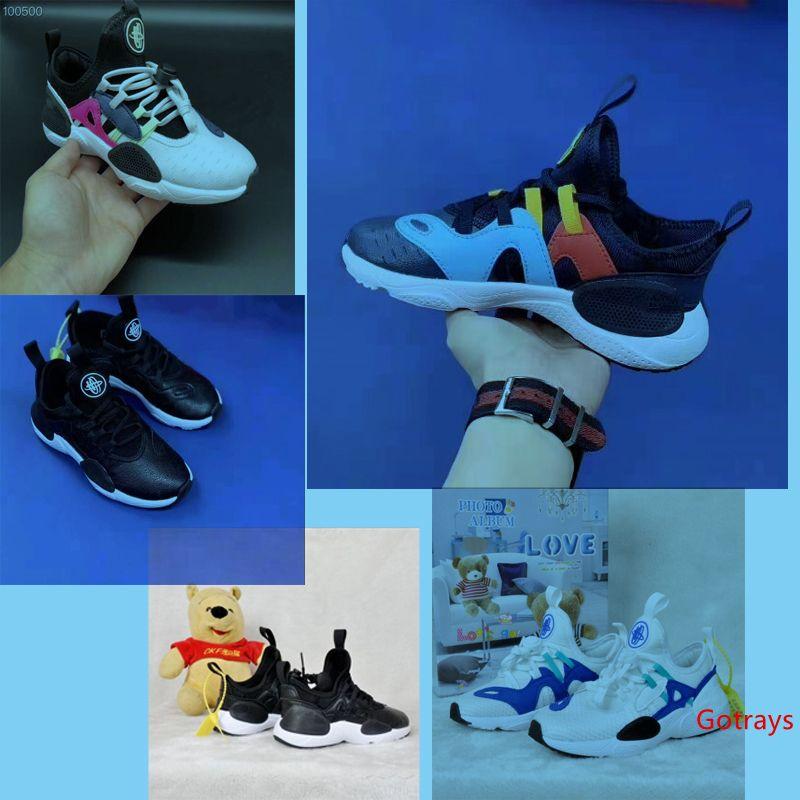 Çocuk Yeni Çocuklar Huarache 7.0 Koşu Ayakkabıları Çocuk Tasarımcı Hurache Rahat Eğitmenler Nefes Klasik Sneakers Bebek Bebek Boyutu 22-36