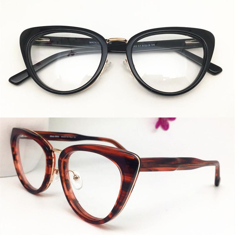 2020 الجملة الجديدة أعلى جودة النساء إطار نظارات رجال خمر خلات نظارات القط النظارات بلانك نظارات إطار نظارات بالجملة 0063