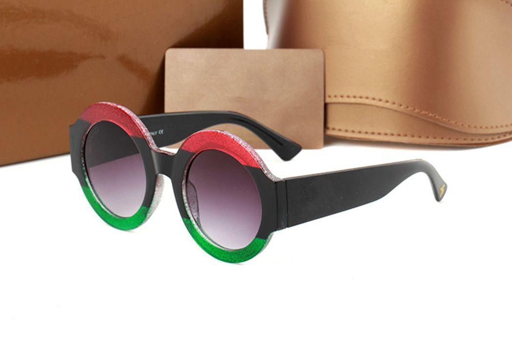ساحة كبيرة مصمم العلامة التجارية رجل نمط العلامة التجارية النظارات الشمسية النظارات لا برغي إطار نظارات الشمس الفولاذ المقاوم للصدأ مع الحزمة الأصلية