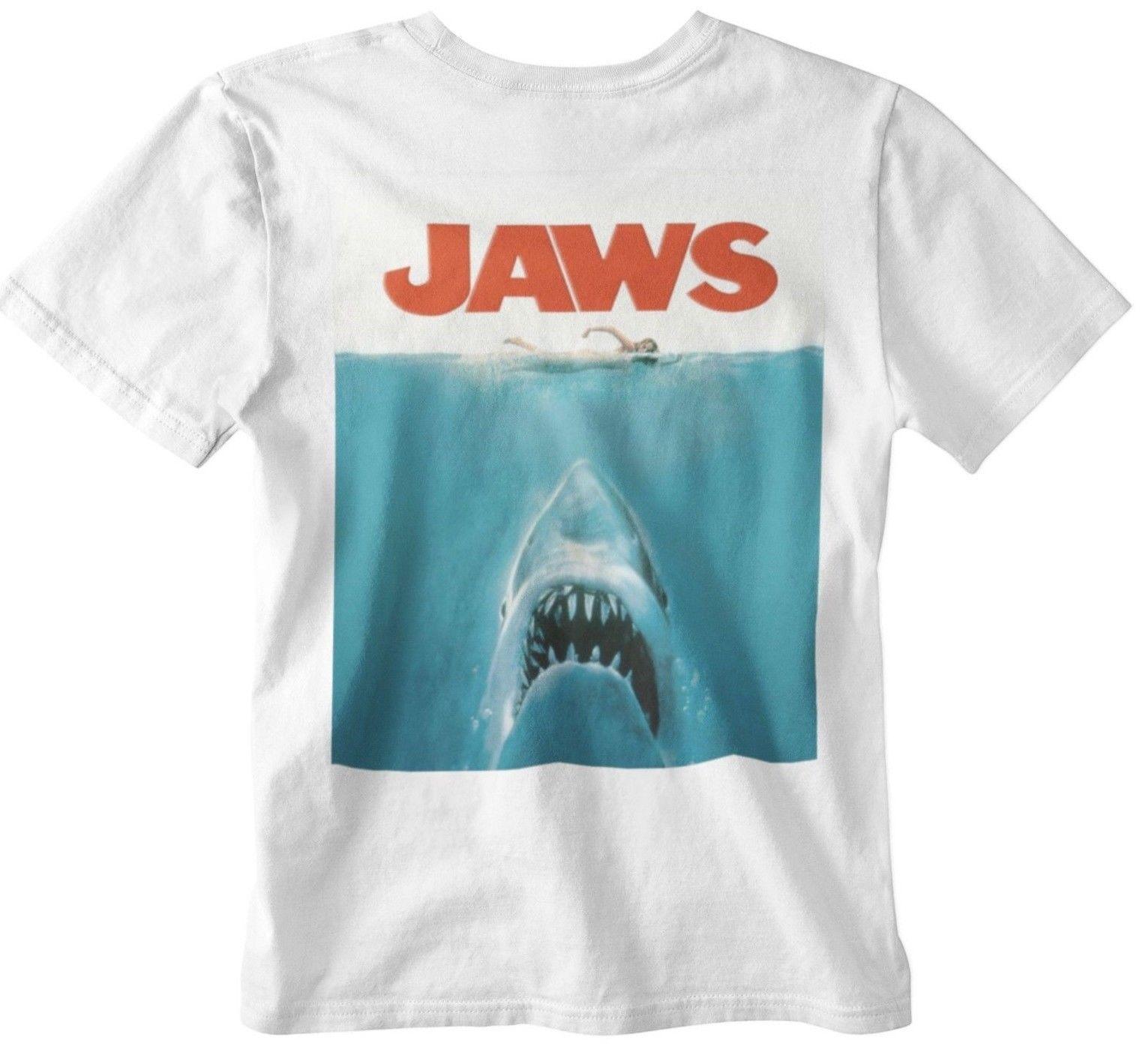 Jaws Aged Retro 70s Hoodie