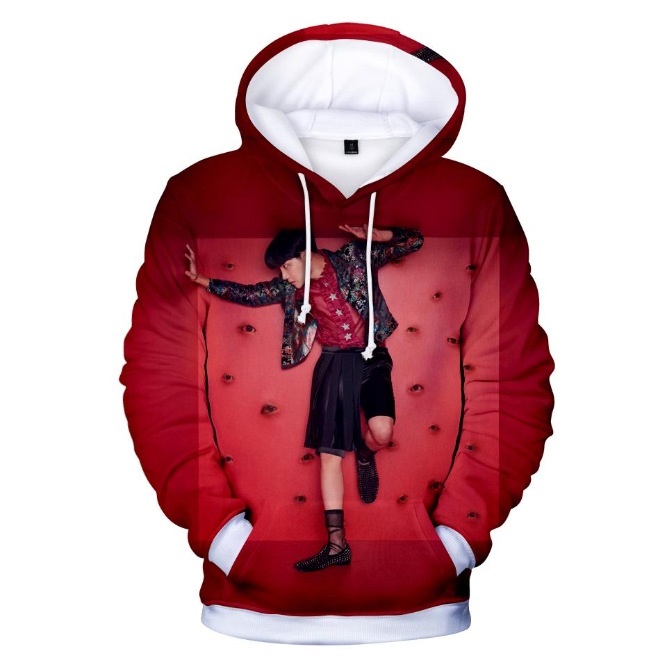 BTS Love Yourself Réponse 3D Hoodies Hip Hop Femmes Kpop Mode Hot Selling garçons Femmes fans Sweatshirts