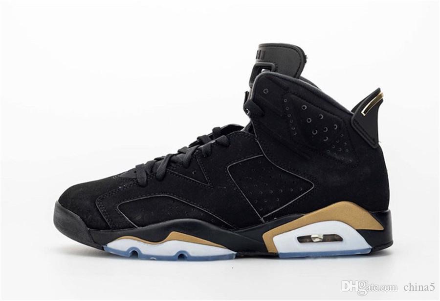 Новый Аутентичный воздух 6 DMP Retro Black Metallic Gold 23 Баскетбольной обувь Man Определяющих моменты обновление Sneakrs Спорт CT4954-007 с оригинальной коробкой