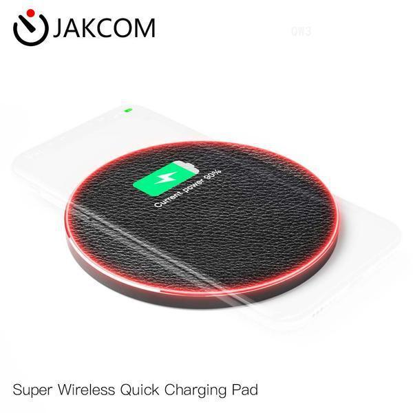 JAKCOM QW3 Super Wireless Quick Charging Pad New Cell Phone Chargers as bracelet men tracked wheels valentine