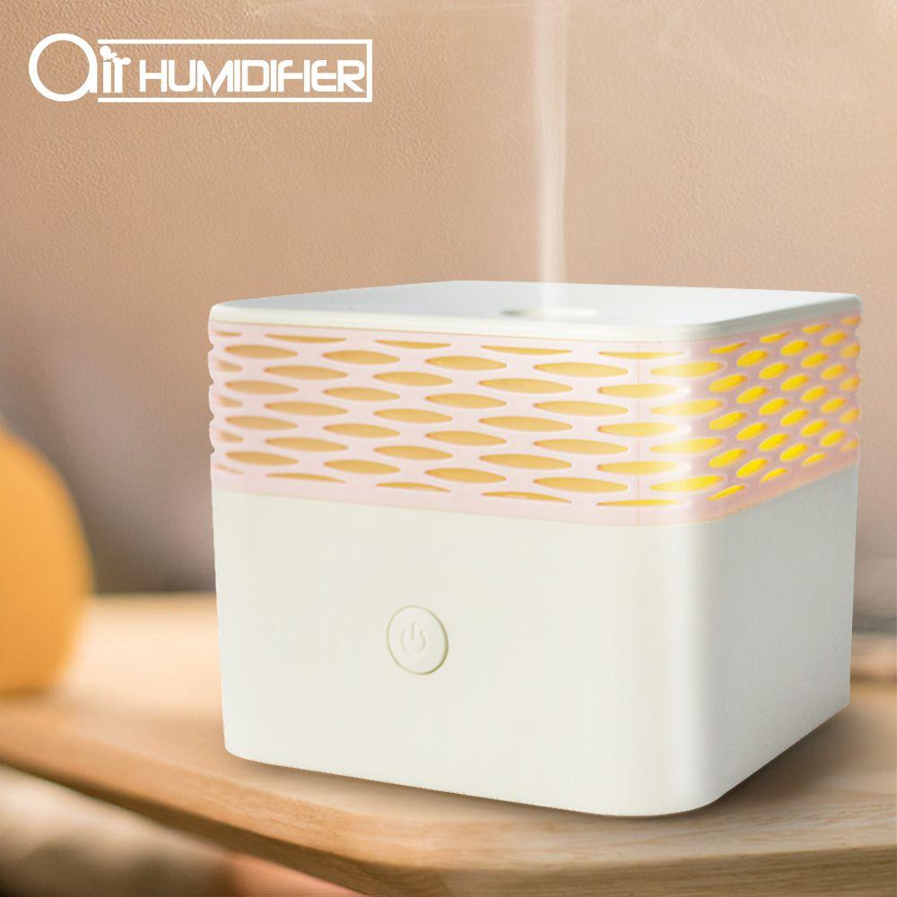 Esansiyel Yağı Koku Lamba Nemlendirici Ultrasonik Aromaterapi Makinesi USB Nemlendirici Sprey Tütsü Makinesi Fırın Ev kullanımı