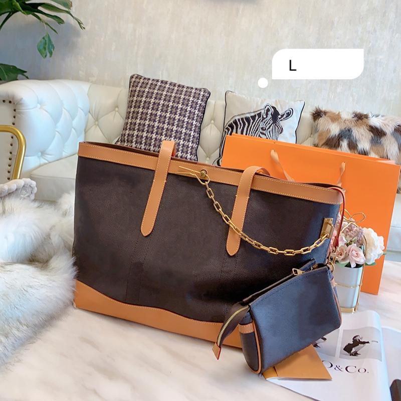 Pink Sugao designer luxury handbags purses brand tote bag women designer bags purse shoulder handbags old flower printed handbag