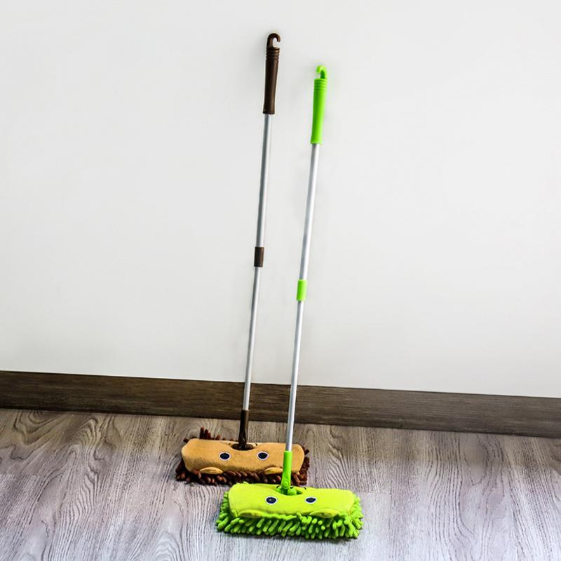 Children's Toy Mops Mini Flat Swabber Corner Cleaning Broom Baby Play Mop Car Clean Brooms Household CleaningTools Accessories