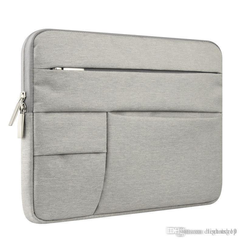 2020 الرجال النساء المحمولة دفتر يد حقيبة الهواء برو 12 13 14 15.6 حقيبة كمبيوتر محمول / كم القضية ل dell hp macbook xiaomi سطح التينا