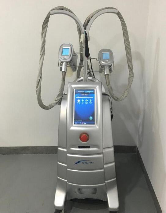 AB ABD İngiltere ücretsiz gönderim ETG50-4S maquina de criolipolisis yağ donma 4 tutamak cryolipolysis zayıflama makinesi