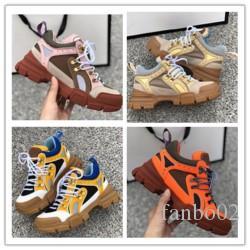 Designer-Mann-beiläufige Schuh-preiswerte beste Top-Qualität der Frauen der Männer Fashion Sneakers Party Schuhe Samt-Sport-Turnschuhe Tennis h0273