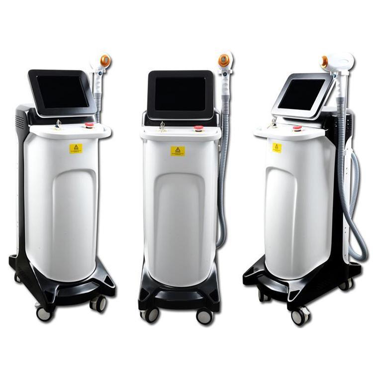 2020 multifonction Épilation 755nm / 808nm / 1064nm diode laser 600W Accueil Utilisation Épilation au laser machine laser CE / DHL rapide Livraison gratuite