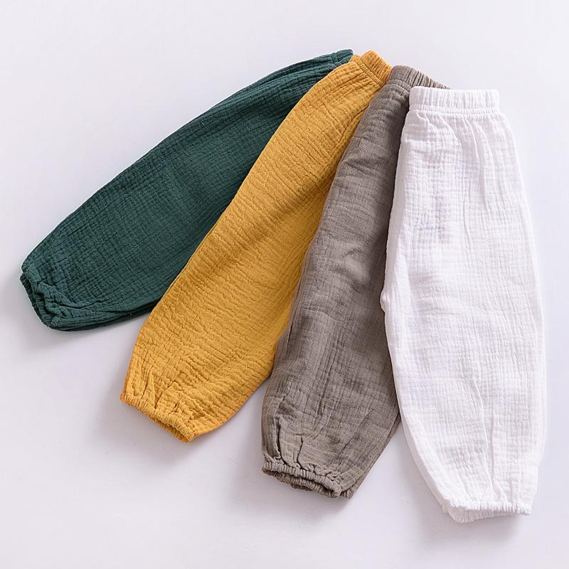 Yaz Bebek Erkek Kız Harem Pantolon Çocuk Çocuk Fener Pantolon Erkek Kız Elbise Çocuklar Rahat Pantolon Joggers