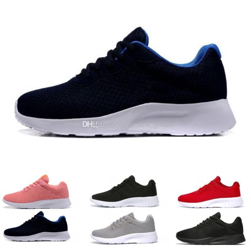 뜨거운 판매 Tanjun 실행 실행 신발 남자 여자 블랙 낮은 경량 통풍 런던 올림픽 스포츠 스 니 커 즈 mens 트레이너 크기 36-45