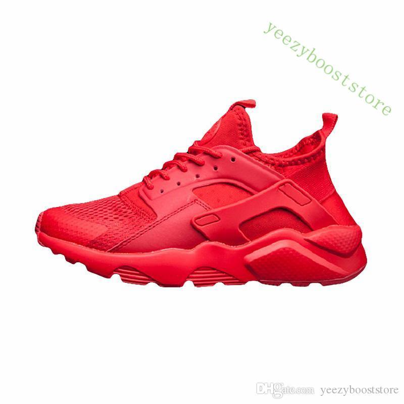 تريند الساخنة Huarache 4.0 مع صندوق كلاسيكي الثلاثي أبيض أسود أحمر الاحذية للرجال والنساء Huaraches الرياضية حذاء رياضة المدربين حجم 5-11