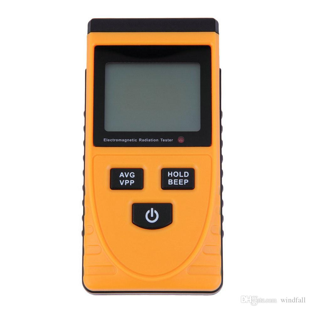 EMF Meter,Detector de radiaci/ón electromagn/ética,Campo electrico//magnetico Cantidad de radiaci/ón Determinaci/ón con alarma