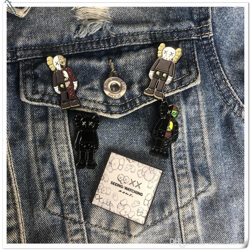 28 Styles Mode Cartoon Broche badges émail Lapel Pins Broches Cadeaux bijoux mignons pour Garçons Filles Amis