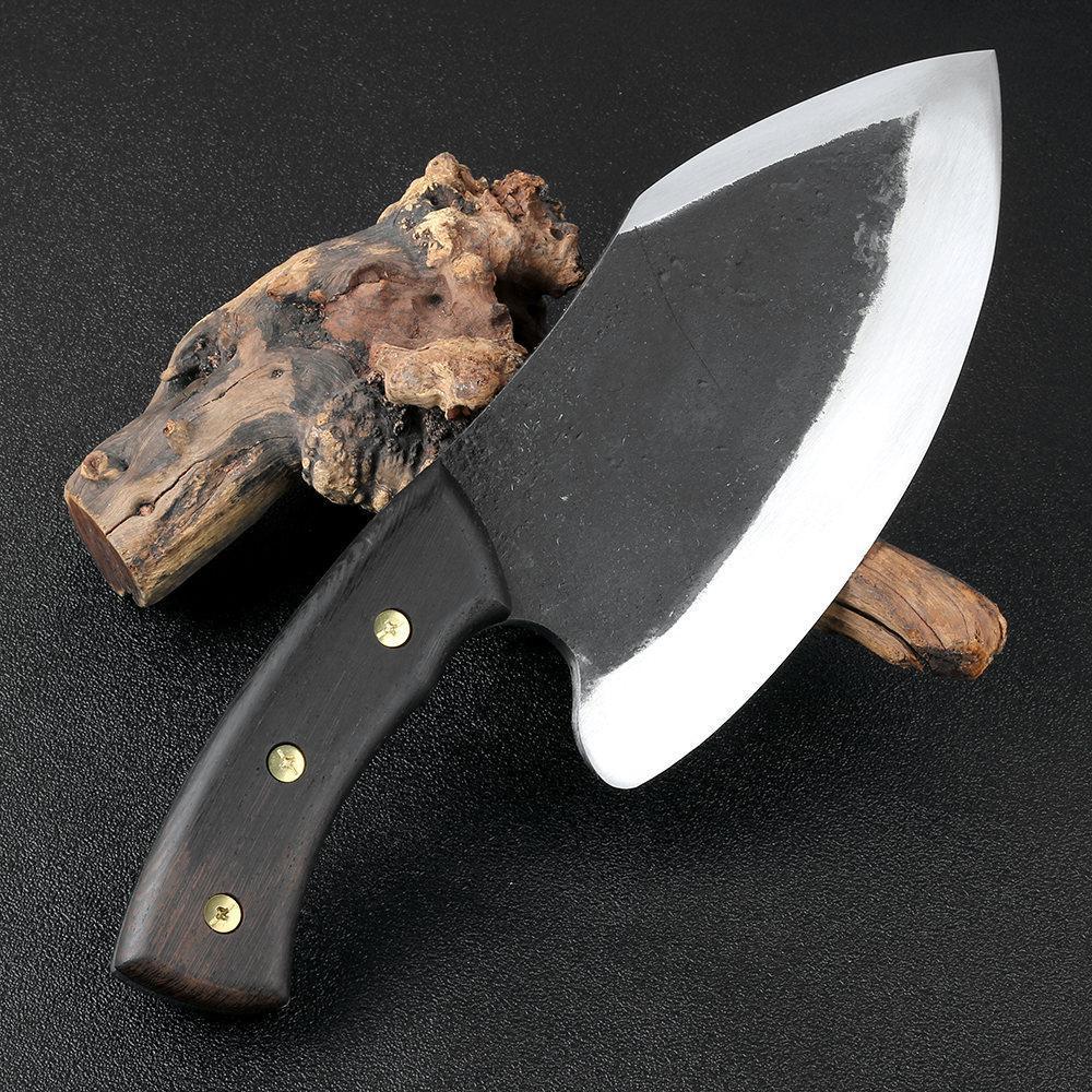 YKC Sıcak Süper Geniş Bıçak El yapımı Bıçak 1185 G 9 İnç Otel Mutfak Kasap Özel Bıçak Yüksek Manganez Çelik Dövme Chef Araçları