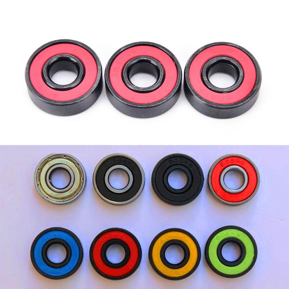 For 608Zz Ceramic Speed Wheels Bearing For Finger Spinner Skateboard Skate Roller Skate Bearings For 608Zz sByVr