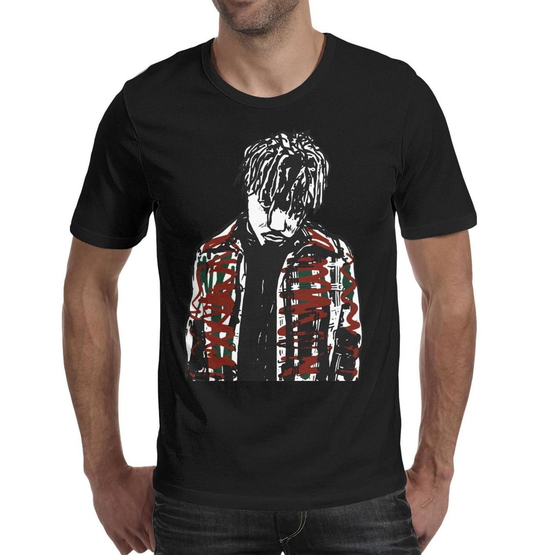 Fashion Mens Juice Wrld poster black Round neck t shirt Funny Hip hop shirts JUICE WRLD you dont love me juice wrld all girls are the