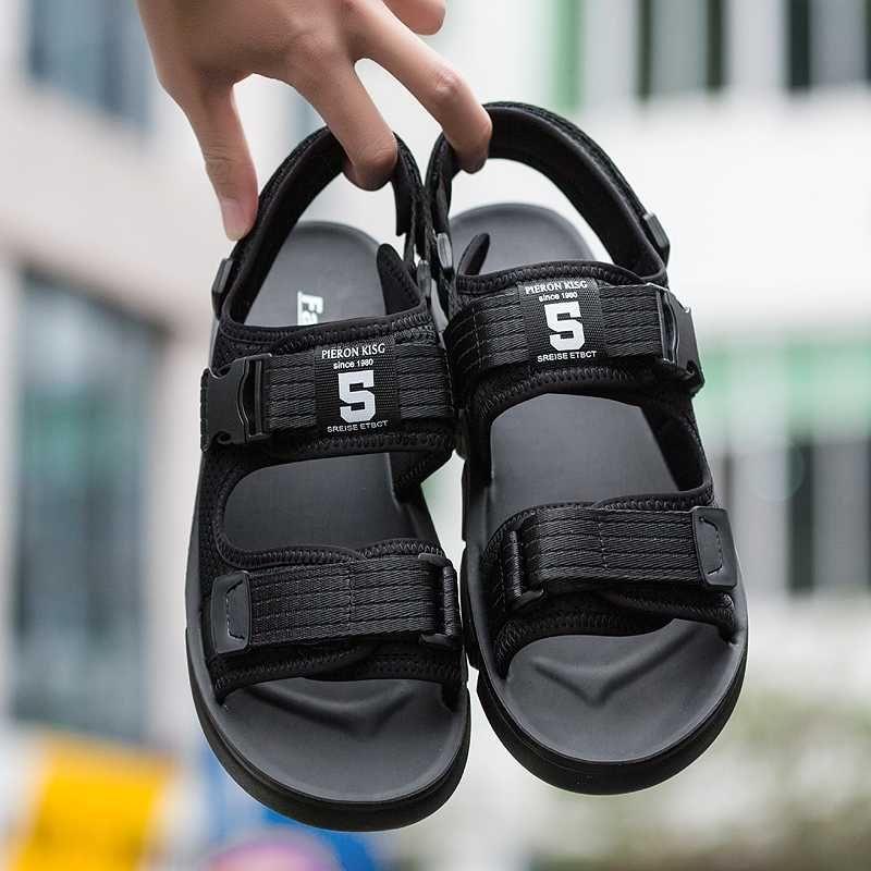 Vietnam zapatos sandalias para hombre verano 39 nuevos 2020 deportes ocasionales del gladiador playa al aire libre con malla transpirable ligero caminar diseñador