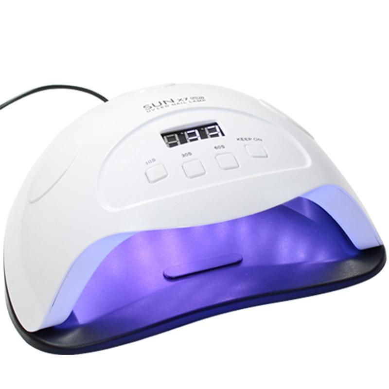 84W mains ongles Sèche-LED Lampe LED 36PCS double lampe pour ongles Gel UV Durcissement Vernis à ongles avec 10/30/60 minuterie intelligente pour manucure LY191228