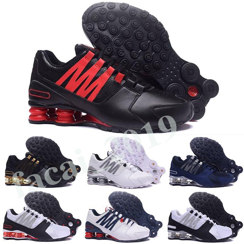 Nike Air Shox PU الأحذية الساخنة الرجال أحمر NZ بولي أبيض أسود الذهب الوردي الشهيرة R4 809 تقديم OZ 2019 رياضية احذية رياضية الاحذية حجم 36-46 K8
