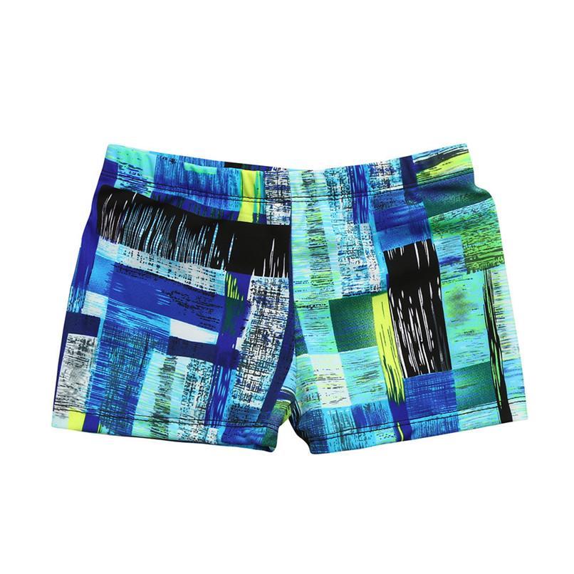 Crianças Meninos trecho de praia swimsuit swimwear troncos Shorts roupas camuflagem listrado Boxers # 2f28