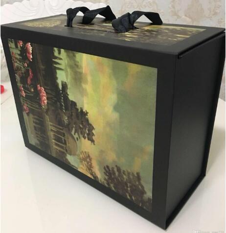 Vente chaude Nouveau sac à main Portefeuille Femmes Sacs à bandoulière Noir Boîte-cadeau Blanc avec facture Certificat Carte Accessoires Boîtes en carton