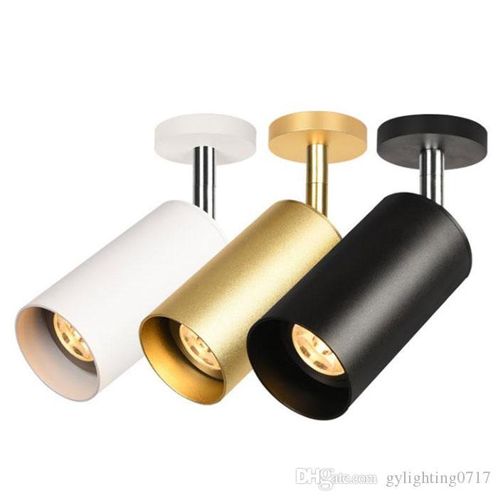 Современные GU10 5W светодиодные потолочные точечные светильники лампы сменной лампы светодиодные прожекторы Гардеробная / ресторан / colothing магазин прожекторами