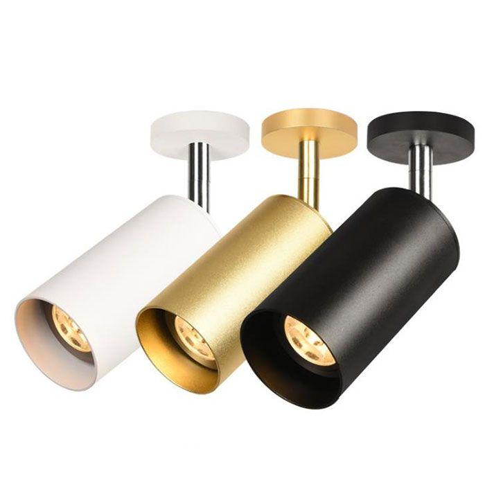 Moderna GU10 5W llevó los proyectores de techo lámpara de focos LED bulbo reemplazable vestidor / restaurante / colothing focos de tiendas