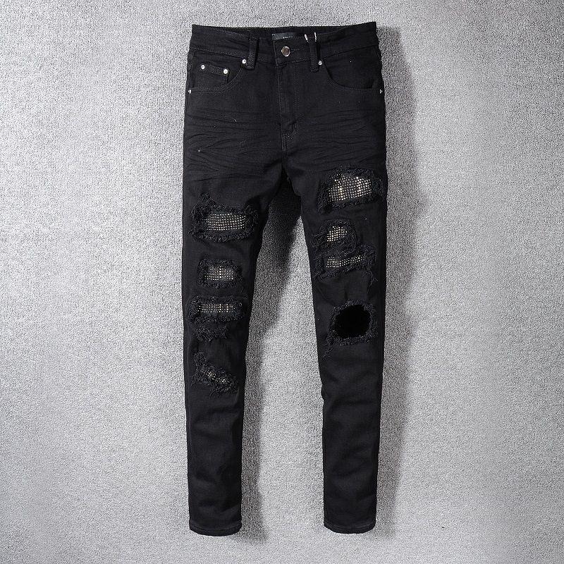 Новый стиль мужские дизайнерские джинсы письмо печатные белые джинсовые брюки мода клубная одежда для мужчин Бесплатная доставка хип-хоп узкие джинсы