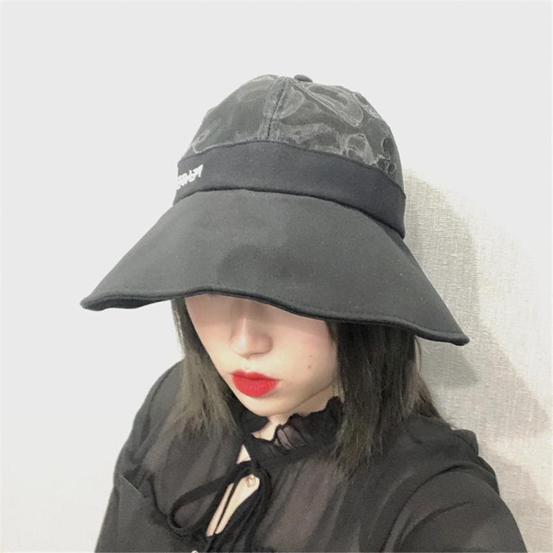 Pequeño viento fragante Margarita red pescador sombrero mujer verano viajes protector solar Delgado transpirable sombrilla cuenca sombrero WS-2206