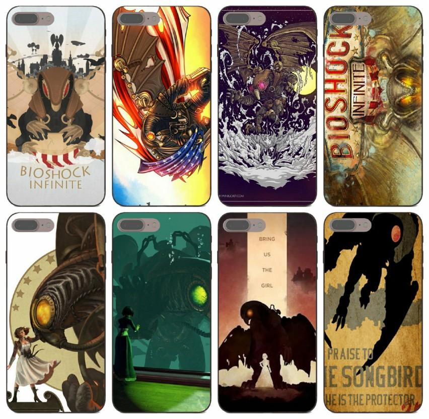 iPhone Jogos especiais Bioshock Infinito Songbird capa para 11 Pro Max X XS 8s 7s Caso P20 6s 5s Além disso Samsung J2 J3 J5 J7 Huawei G9 [TongTrade]