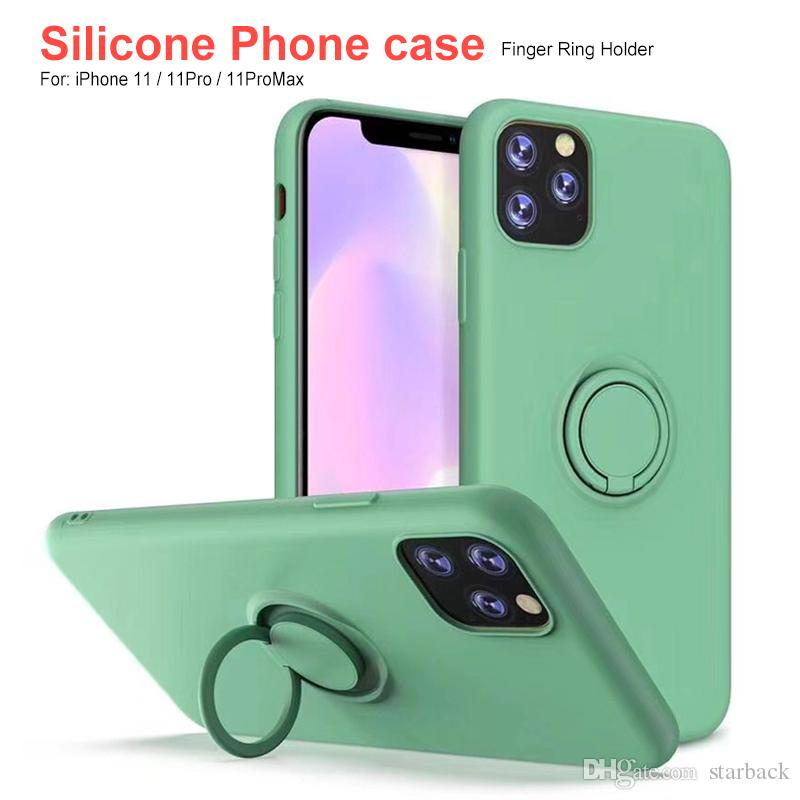 Ring Holder Case Silicone Cover