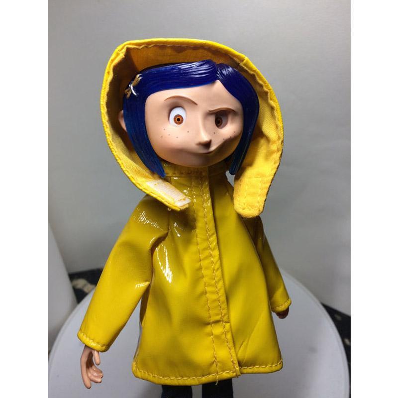 2020 Hot Movie Coraline The Secret Door Neca Raincoat Pvc Action Figures Toys Dolls 17cm From Sunnysleepvip12 61 26 Dhgate Com
