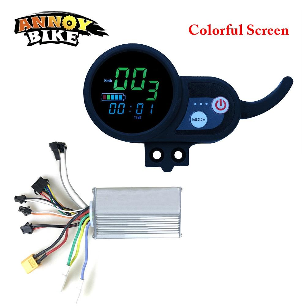 Ebike Controller 36V48V52V60V Electric Bike Display LCD Display For Electric Bicycle Colorful Screen