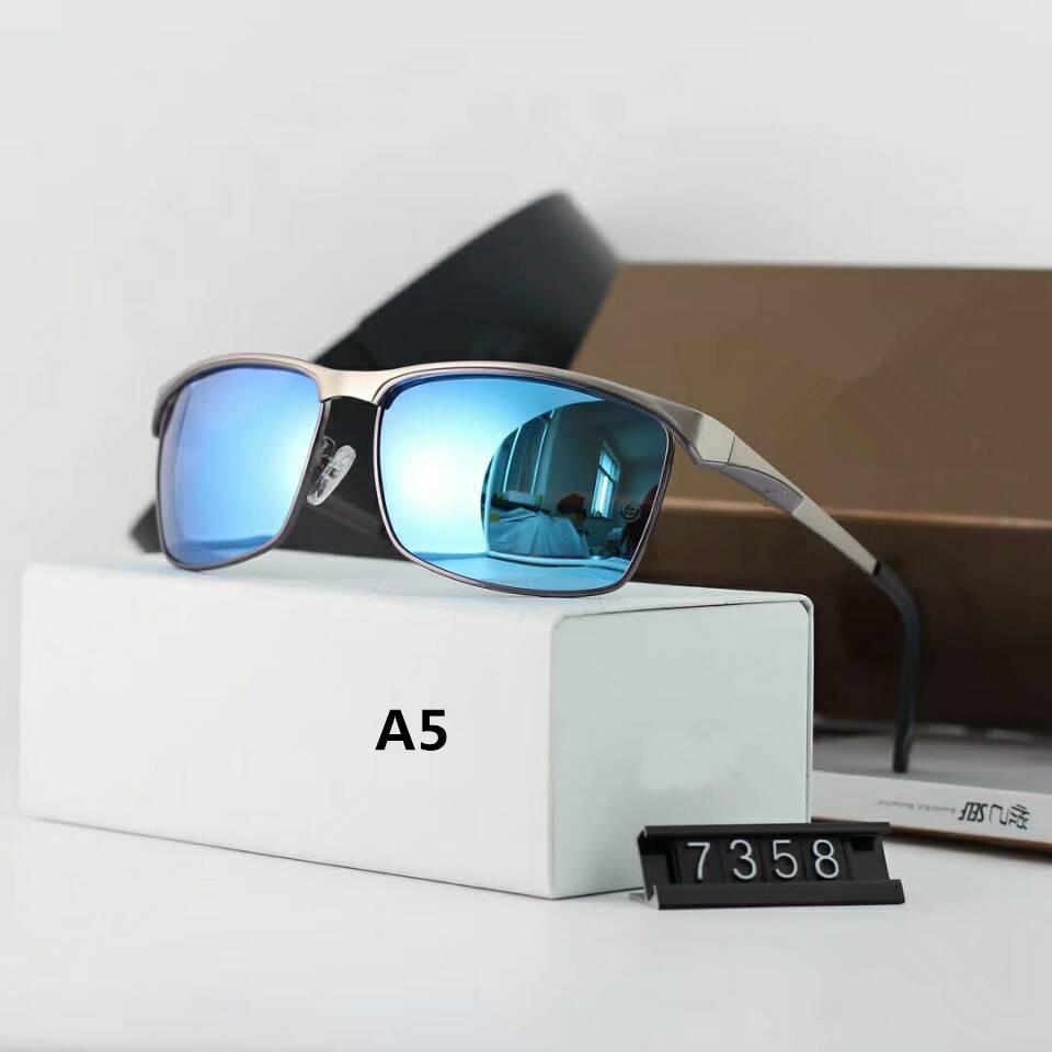 European and American fan polarized sunglasses Male driver driving sunglasses driving glasses Fashion trend sunglasses