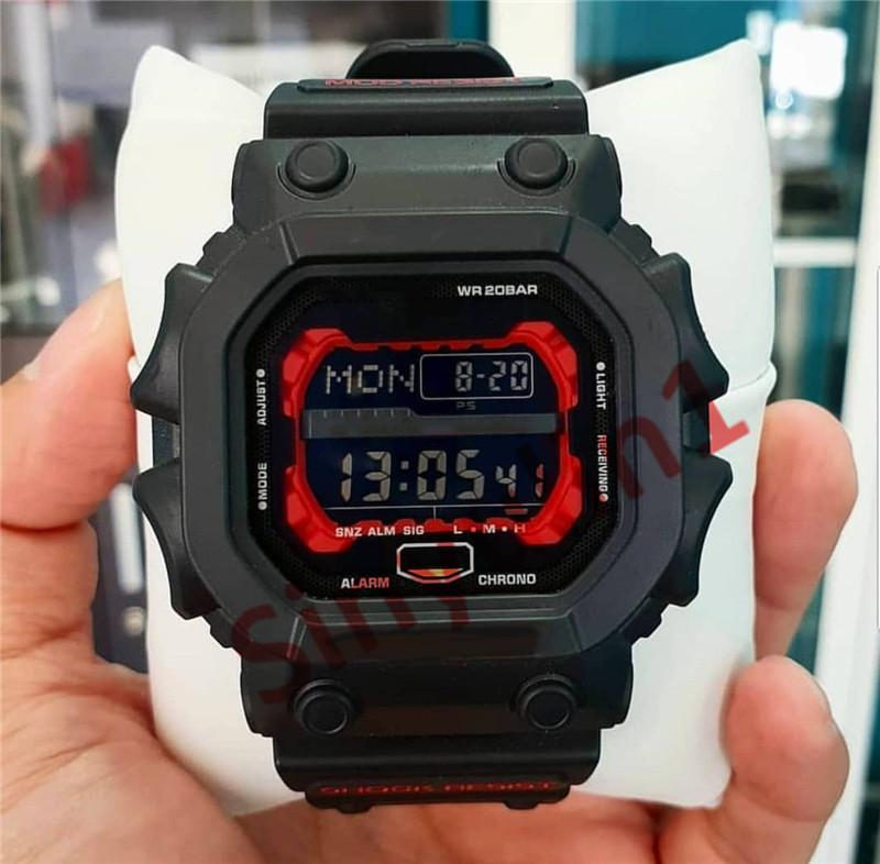 New Fashion Men's Watch Military G Style Montre De Luxe LED Digital Wristwatches for Boy Students Water Resist Square Big Dial Shock Clock