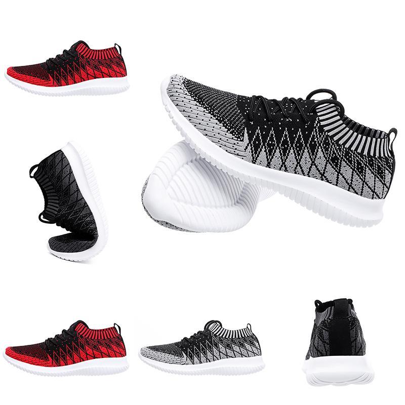 Sıcak satış Siyah Kırmızı Gri Primeknit Çorap eğitmenleri spor ayakkabısı Ev yapımı marka Çin büyüklüğü 39-44 Made in koşu ayakkabıları mens womens