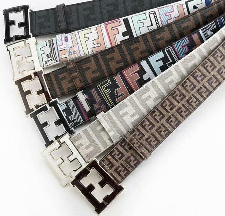 2020 correia nova marca de letra imprimir clássico fivela plana marca cinto de couro macio correia da forma tamanho 105-125cm correias das mulheres dos homens e