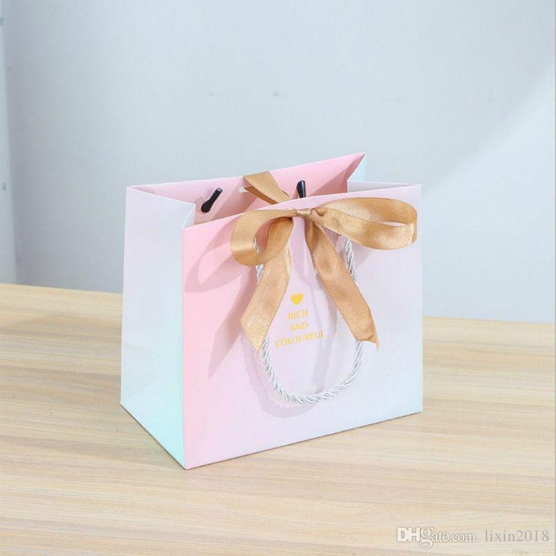 크리 에이 티브 유럽 스타일 대리석 선물 포장 가방 결혼식 캔디 가방 쇼핑 화장품 포장 사용자 정의