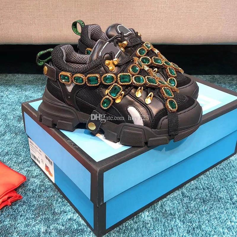 los zapatos del diseñador de moda de lujo zapatos de la mujer de los hombres de lujo de alta calidad de diseño zapatillas de deporte 35-45 modelo RZ03