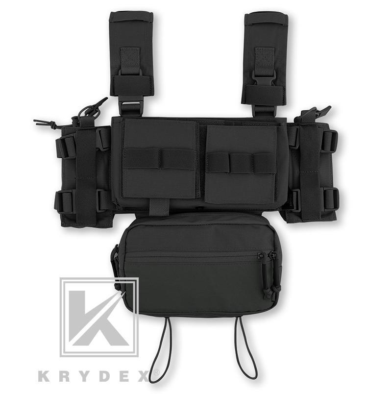 KRYDEX MK3 Tactical Chest Rig Mini Spiritus Airsoft Jagdweste Ranger militärische taktische Fördermaschine-Weste mit Magazintasche