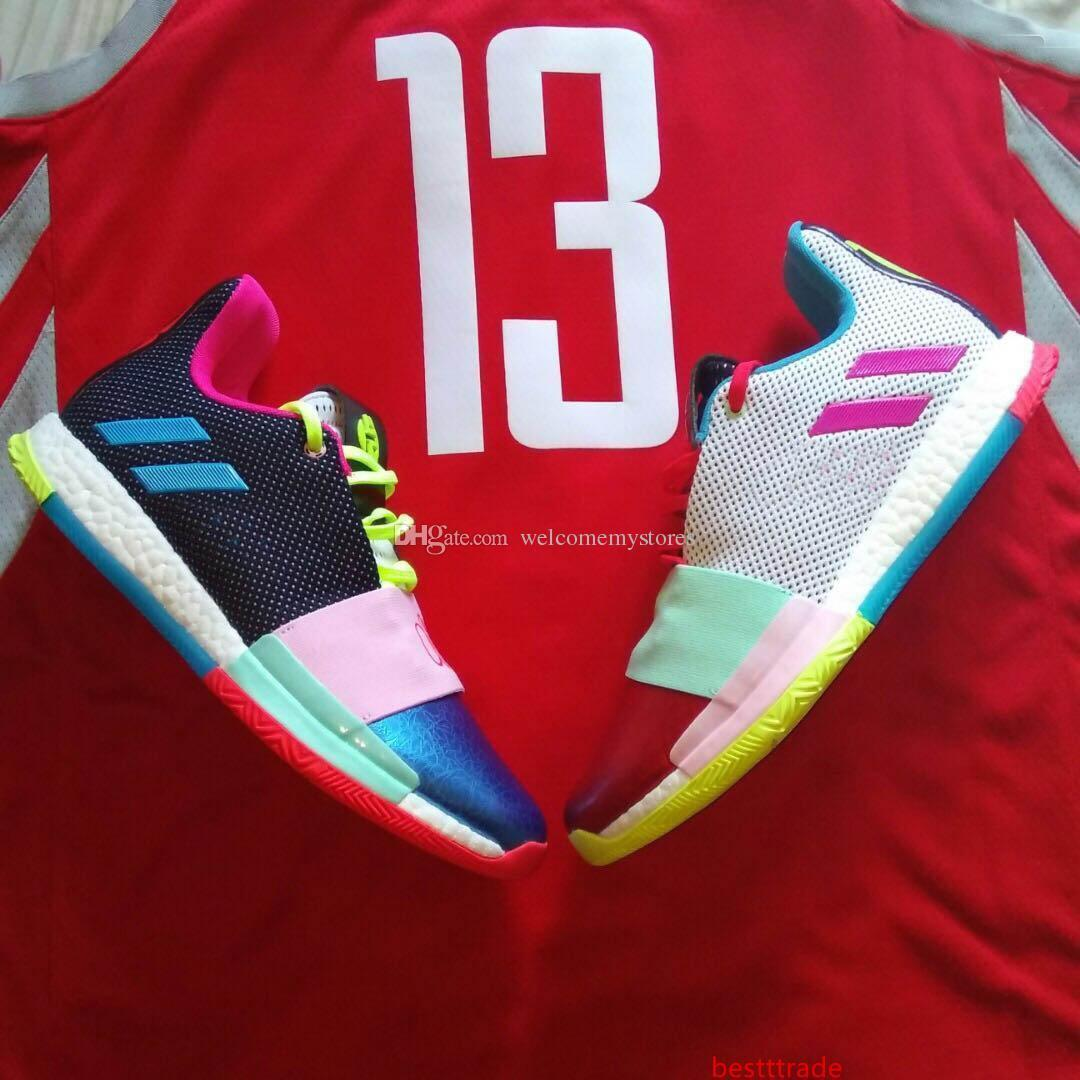2020 James 2019 Harden Basketball Shoes Vol.3 Vol 3 Drew League Different Breed Wanted Waht The Mission 13 Size 40 46 From Bestttrade, $12.92  