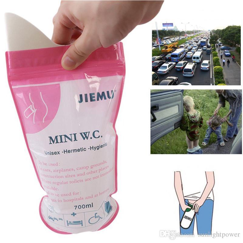 must per esterni self-driving Traffic//campeggio//viaggio ecc. 4/confezione di emergenza unisex urine bag viaggio orinatoio per bambini uomini e donne super assorbente Monouso orinatoio borse