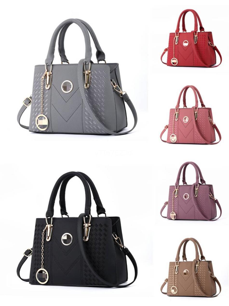 Designer de moda bolsas de couro das mulheres sacos de viagem Zipper Handbag Bag Acessórios Femininos Designer Bolsas de Ombro # 757