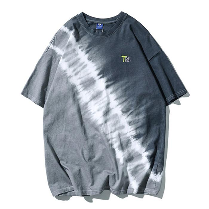 Mens طبع Hipphop Style Tshills Summer Designer Loose Pullovery Street Style Tees Males Crew Neck Fashion Shop