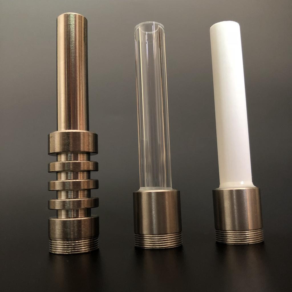 DHL-freies Thema Titanium Keramik 510 Quarz-Tipps Nägel Wasserpfeife Rauchpfeifen Dab Rig Micro Nc Rauchen Rohr Zubehör