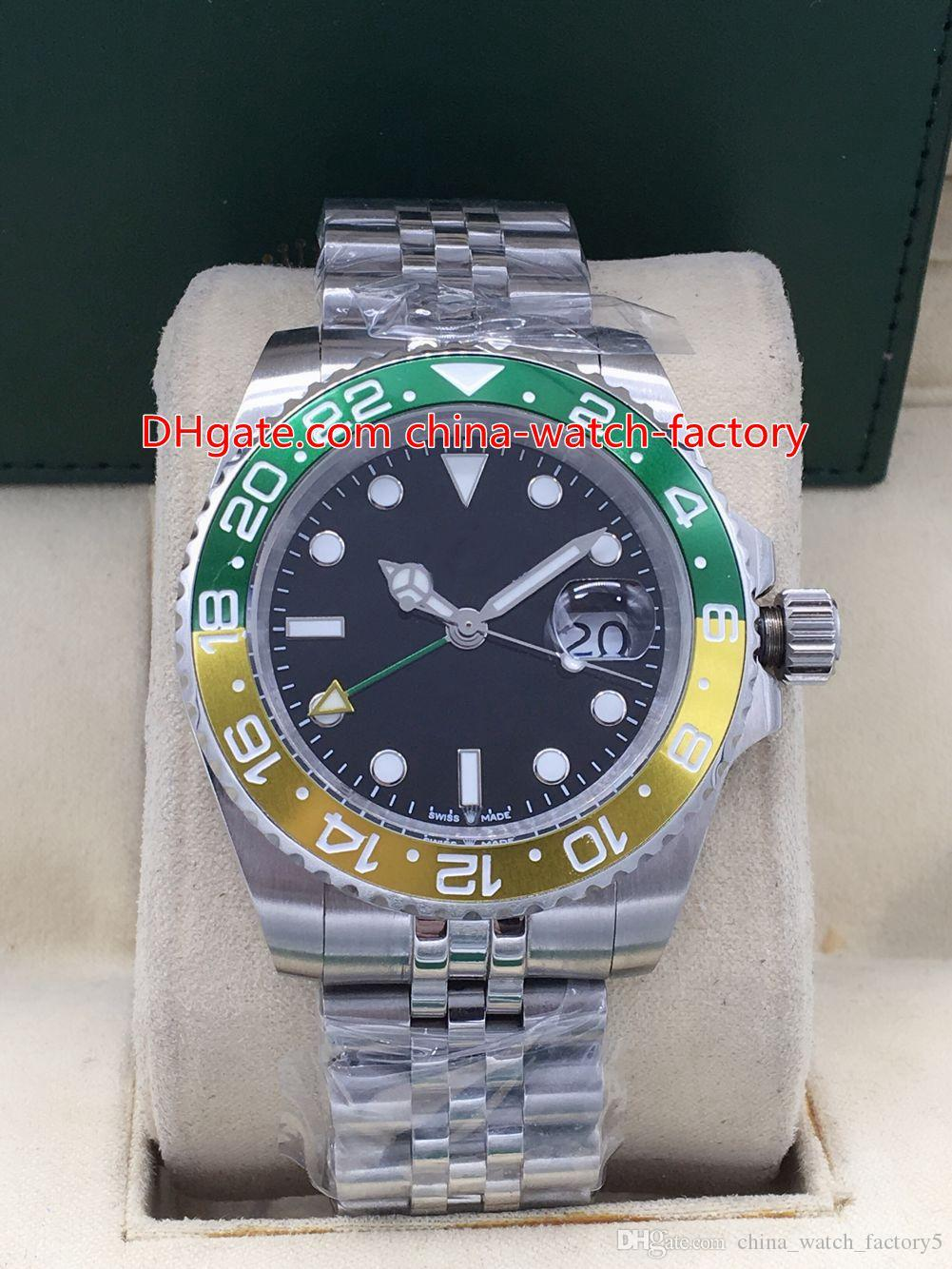 4 Style Basel World 40mm GMT 126710 126710blro 126710blnr Pepsi Ceramic Jubilee Bracelet Asia 2813 Movement Automatic Mens Watch Watches