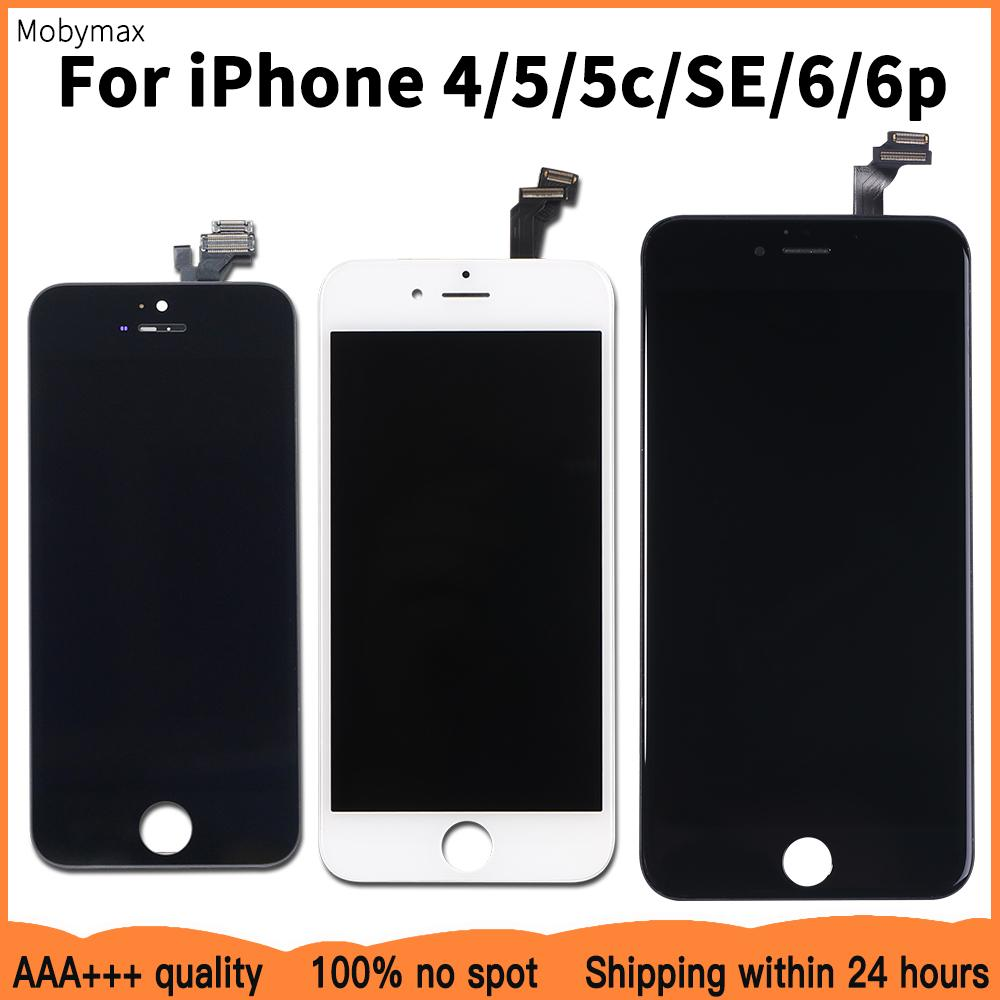 LCD Screen Replacement For iPhone 6 SE 100% No Dead Pixel Display Digitizer Assembly 5 5c 6plus 4 Good Warranty